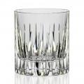 12 Vasos bajos de whisky o vaso de agua en cristal ecológico - Voglia