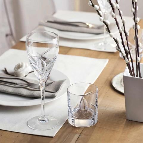 12 copas de cata de vinos de diseño de lujo en Eco Crystal - Montecristo