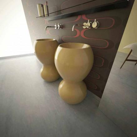 Fregadero de pedestal de diseño moderno Ariel, hecho en Italia.