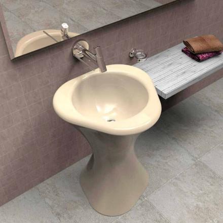 Fregadero de pedestal de diseño moderno Twister hecho en Italia