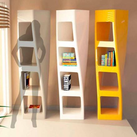Estantería moderna de diseño de Solid Surface® modelo Collins