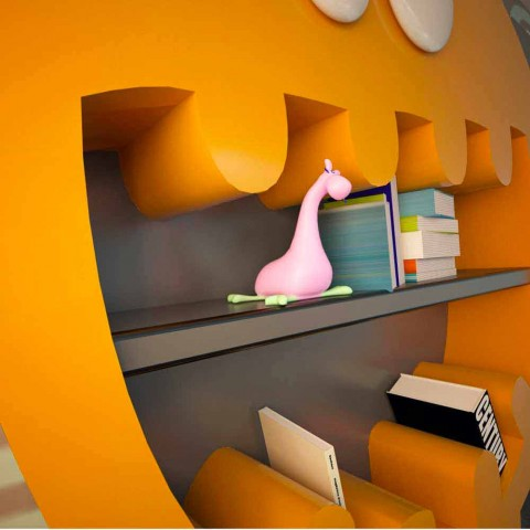 Hardy Modern Bookshelf Hecho en Italia