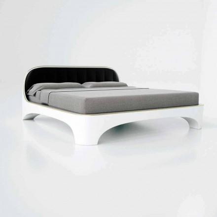 Lujo diseño moderno cama doble elegancia hecha en Italia
