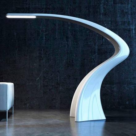 Lámpara de pie de diseño moderno hecha en Italia Lumia