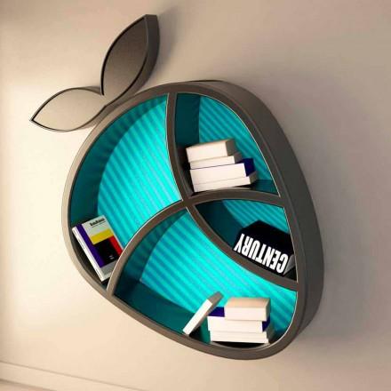 Estante de diseño moderno hecho en Italia modelo Poppy Book
