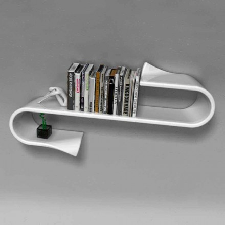 Estante de diseño moderno hecho en Italia modelo Waveshelf