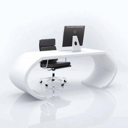 Escritorio de oficina de diseño moderno Adams, hecho en Italia.