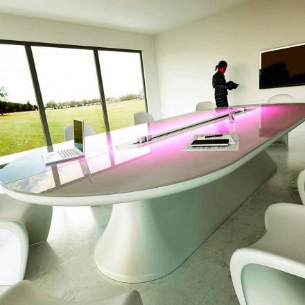 Escritorio de oficina / mesa de reunión de diseño Mesa de información