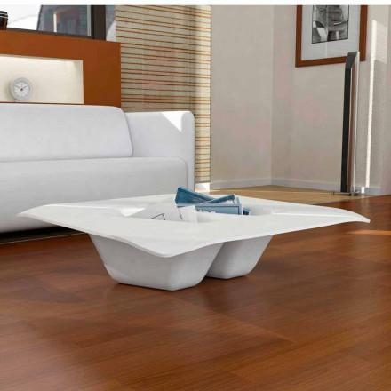 Mesita de diseño moderno hecha en Italia modelo Manta
