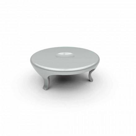 Mesita redonda de diseño Made in Italy