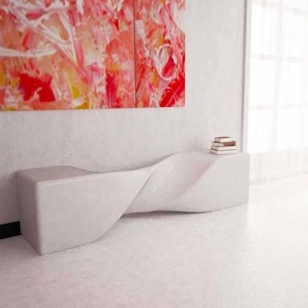 Banco de diseño moderno fabricado en Italia modelo Bobby