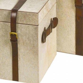 2 diseño en gris pony troncos Ritini, grandes y pequeños