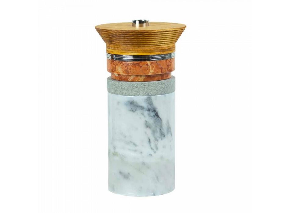 Accesorios Aperitivo Instrumentos de cóctel en mármol, madera y acero - Norman