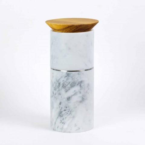 Accesorios que ahorran espacio para utensilios de cocina en mármol, madera y acero - Astoria