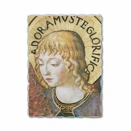 Fresco Benozzo, Gozzoli Ángeles adoración- 1454