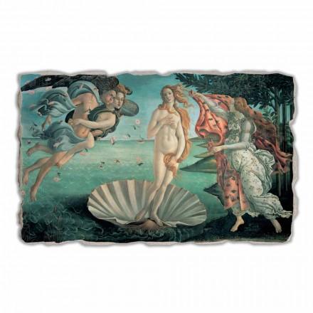 Fresco Botticelli, El Nacimiento de Venus hecho en Italia