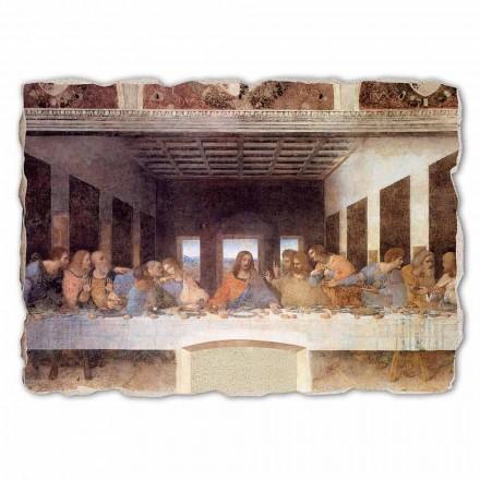 Fresco grande La última cena de Da Vinci hecho a mano