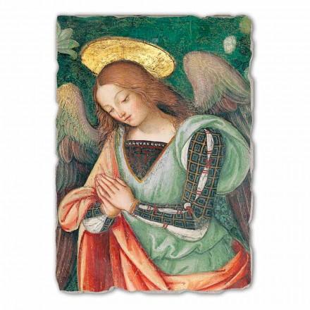 Fresco reproducción Pinturicchio, La Natividad, frag. Ángel