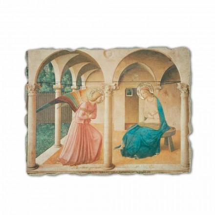 Fresco La Anunciación de Beato Angelico hecho a mano