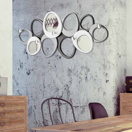 Percheros de pared de diseño Molecole de Viadurini Decor