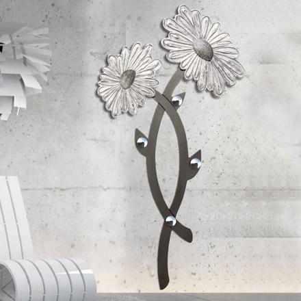 Colgador de pared de diseño por la plata decorado a mano Clarke