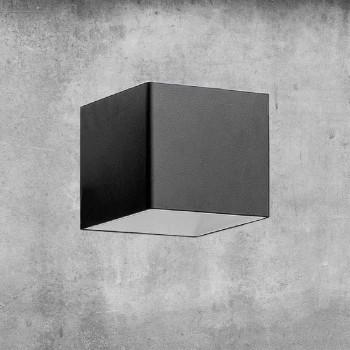 Aplique de latón y yeso Made in Italy - Cubetto Aldo Bernardi