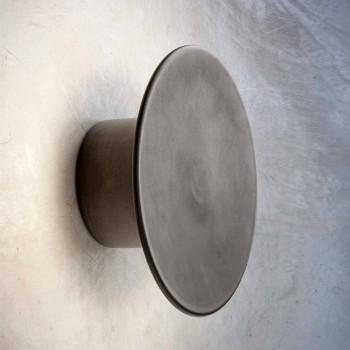 Aplique de pared para exterior moderno en cobre Made in Italy - Pasdedeux Aldo Bernardi