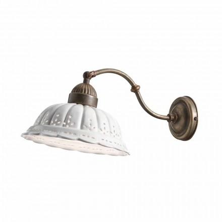 Aplique cerámica de Bassano estilo liberty Anita Il Fanale