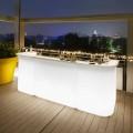Barra de luces de jardín de diseño moderno Slide Break Line
