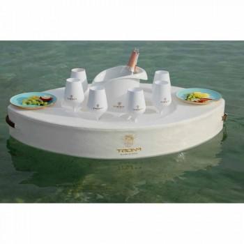 Barra flotante de cuero ecológico Trona canotaje made in Italy