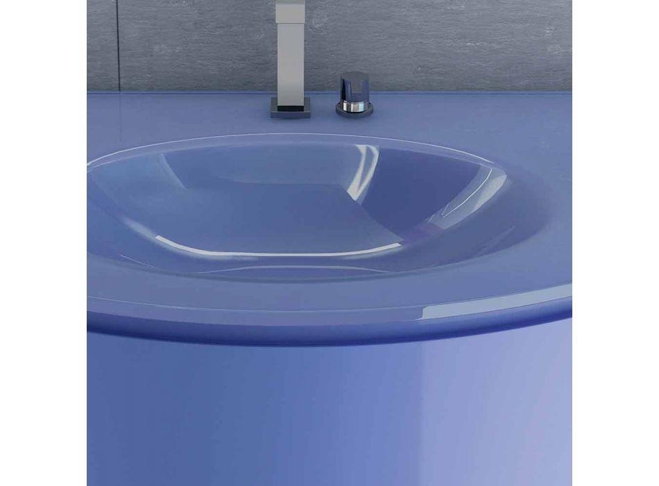 Base lavabo suspendido en la madera 2ante Gioia, diseño moderno