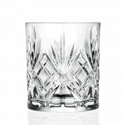 Vidrio Doble Antiguo, Cristal Ecológico Estilo Vintage 12 Piezas - Cantabile