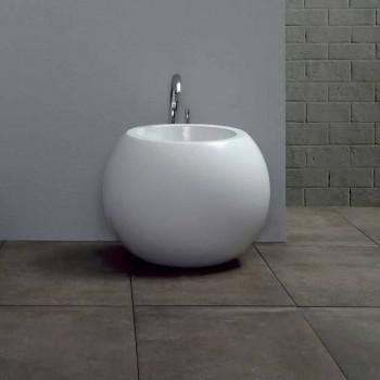 Bidet en forma de bola en cerámica coloreada Fanna