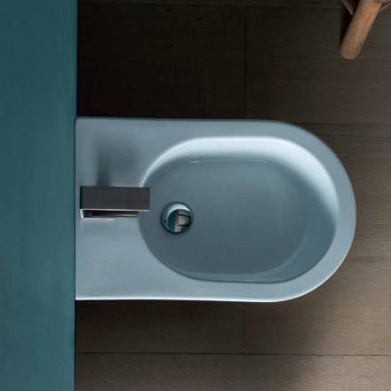 Bidet de cerámica de diseño moderno 57x37cm sol, hecho en Italia