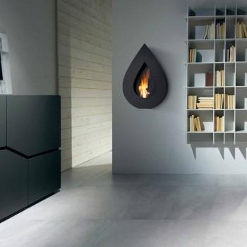 Biocamino moderno de la pared de bioetanol a Joseph forma de la llama