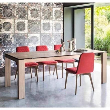 Sigma Calligaris Modern mesa extensible hasta 220 cm de cerámica