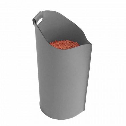 soporte de la pastilla cubierta cesta de cuero de diseño 15 Kg Sapel
