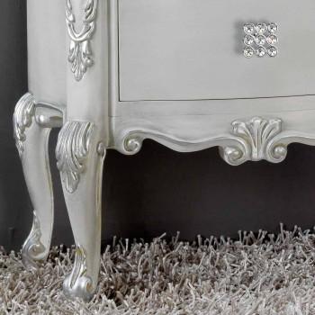 CABECERA madera maciza clásico, se encarga de hueso de cristal