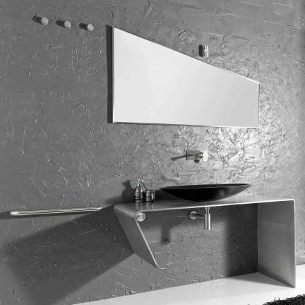 Muebles de baño modernos de encimera hechos en Italia Luisa