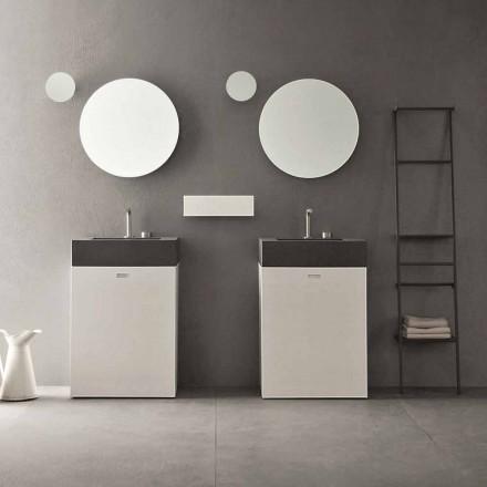 Composición del piso de muebles de baño de diseño moderno - Farart10