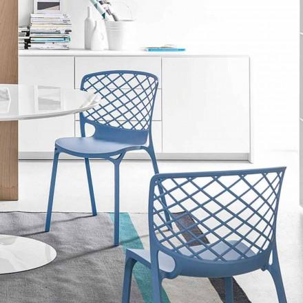 silla de Gamera Connubia Calligaris moderna cocina de diseño, 2 piezas