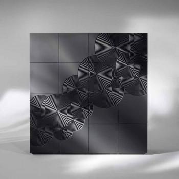 Aparador con 16 ante la pizarra de diseño moderno, blanco, negro o de oro