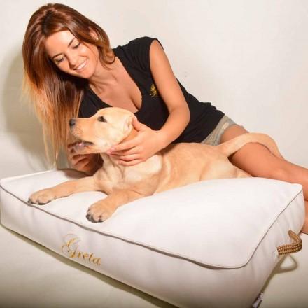 Cojín para perros cubierto en cuero ecológico Doggy Cloud para interiores