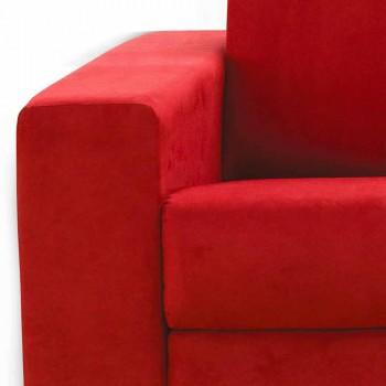 3 plazas maxi diseño moderno de imitación de cuero / tela hecha en Italia Mora