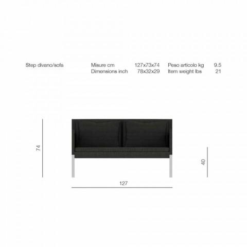 2 plazas sofá como un jardín modelo Paso a Talentos