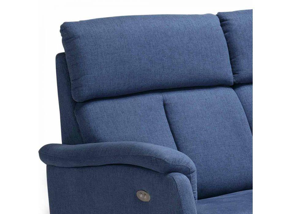 2 plazas sofá moderno diseño en cuero, imitación de cuero o tela Gelso