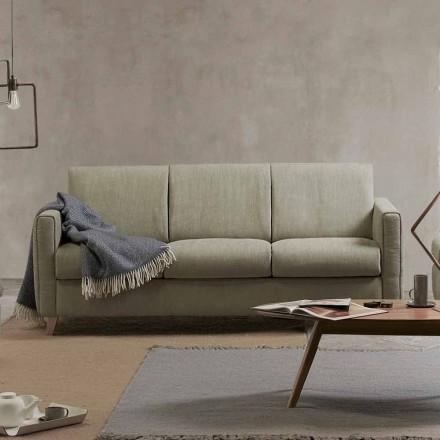 Sofá cama de diseño moderno en tela hecho en Italia Filippo
