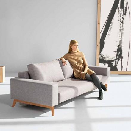 Sofá cama moderno color gris fabricado en Holanda Idun