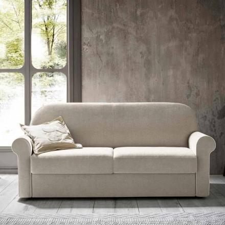 Sofá cama doble en tela de diseño Made in Italy - Anemone