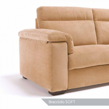 Sofá de relajación eléctrica de 2 plazas, 2 Lilia sillas eléctricas, hechas en Italia